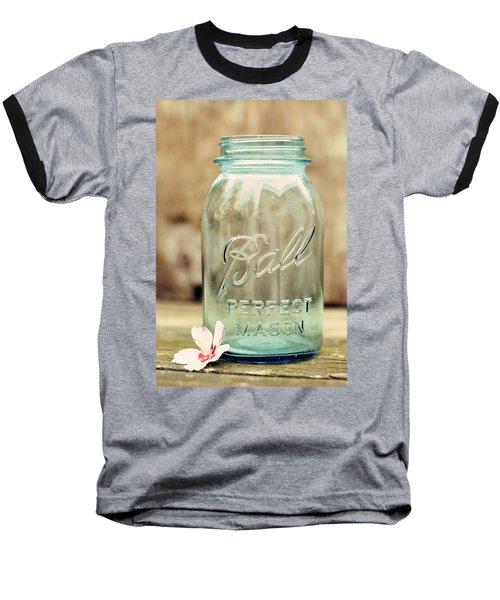 Vintage Ball Mason  Baseball T-Shirt