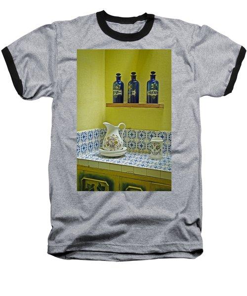 Vintage Bathroom Baseball T-Shirt