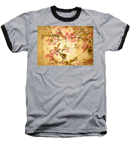 Vintage Blossom Baseball T-Shirt