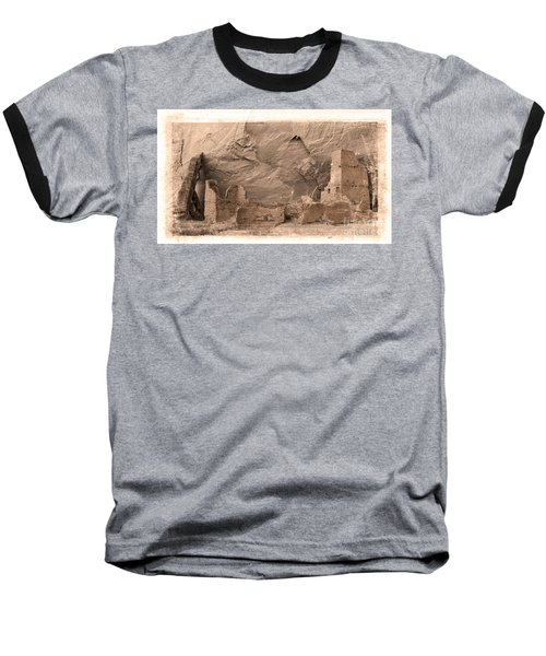 Baseball T-Shirt featuring the photograph Vintage Canyon De Chelly by Jerry Fornarotto