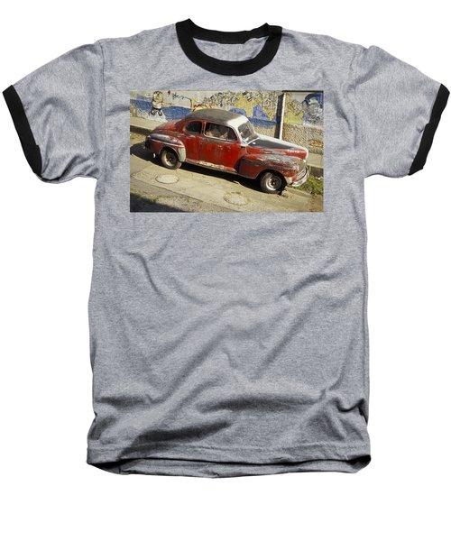 Vintage Car Baseball T-Shirt