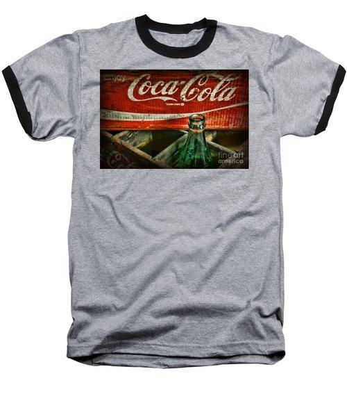 Vintage Coca-cola Baseball T-Shirt by Paul Ward