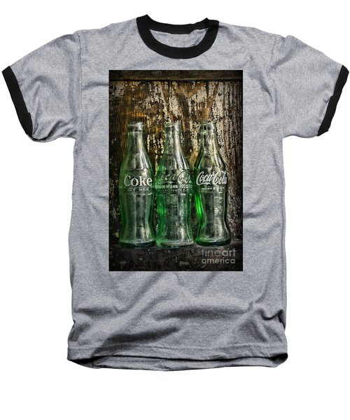 Vintage Coke Bottles Baseball T-Shirt