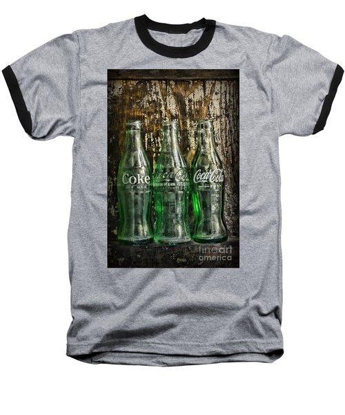 Vintage Coke Bottles Baseball T-Shirt