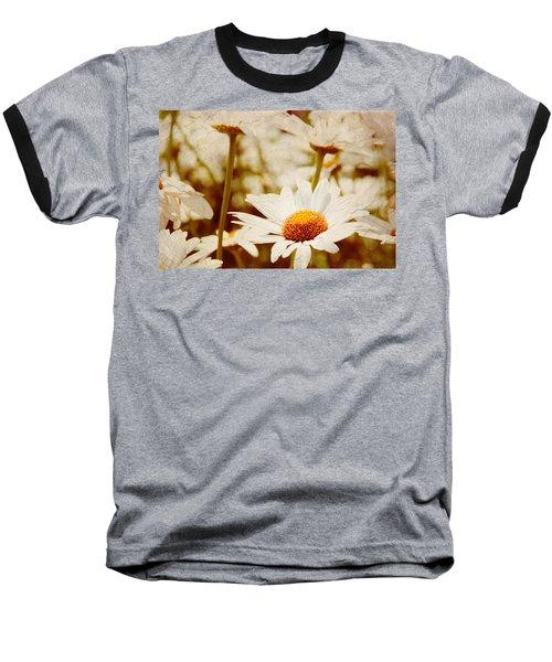 Vintage Daisy Baseball T-Shirt