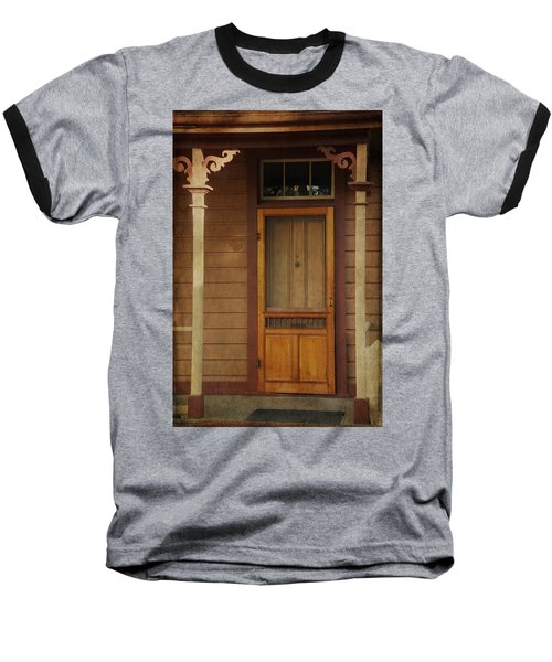 Vintage Doorway Baseball T-Shirt