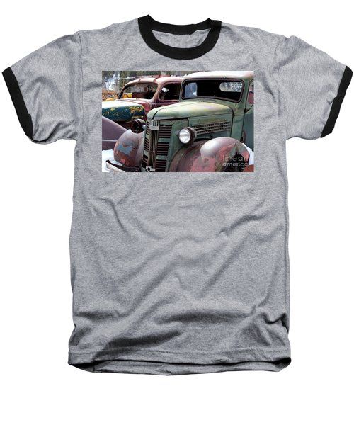 Baseball T-Shirt featuring the photograph Vintage by Fiona Kennard