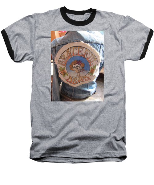 Vintage - Grateful Dead - Fashion Baseball T-Shirt by Susan Carella