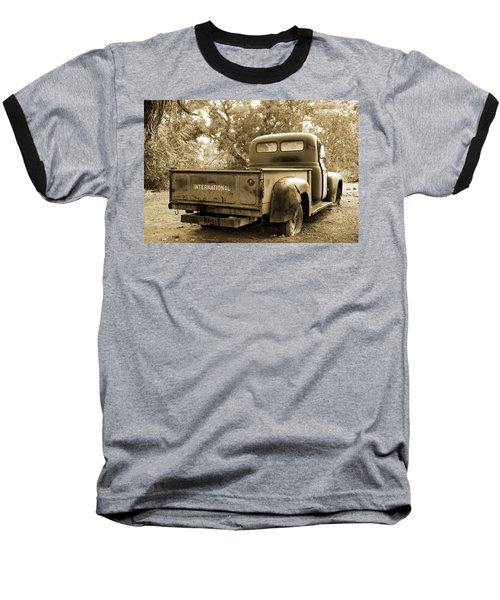 Baseball T-Shirt featuring the photograph Vintage International by Steven Bateson
