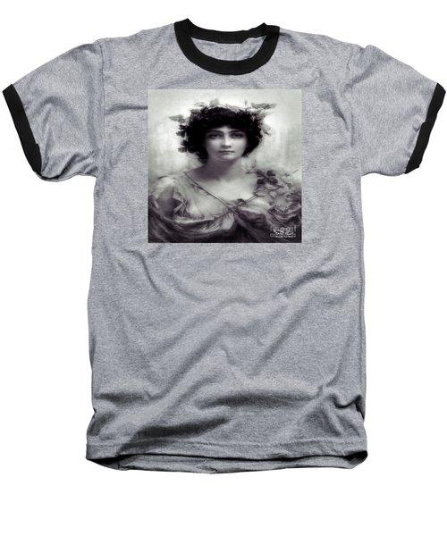 Vintage Lady Baseball T-Shirt