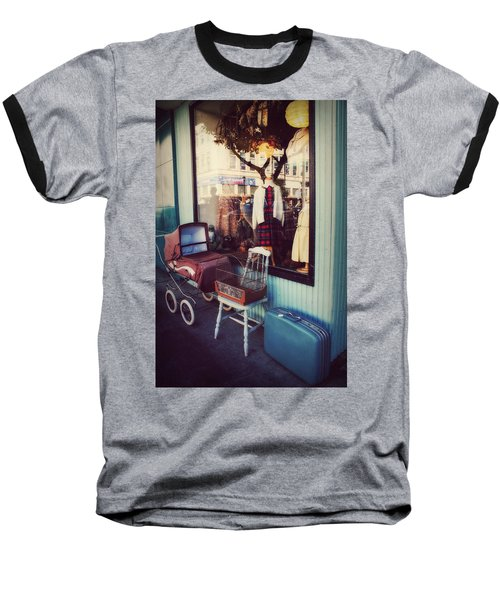 Vintage Memories Baseball T-Shirt