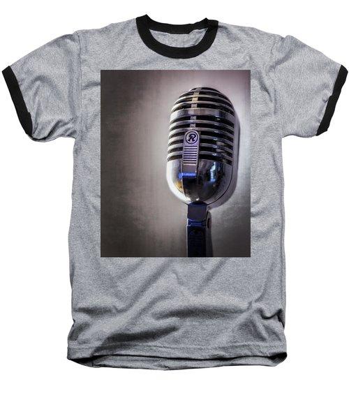 Vintage Microphone 2 Baseball T-Shirt