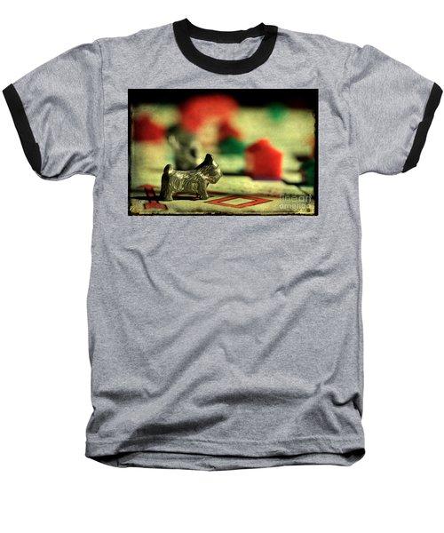 Vintage Monopoly Baseball T-Shirt by Michael Eingle