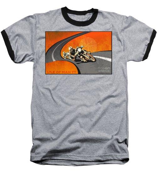 Vintage Motor Racing  Baseball T-Shirt