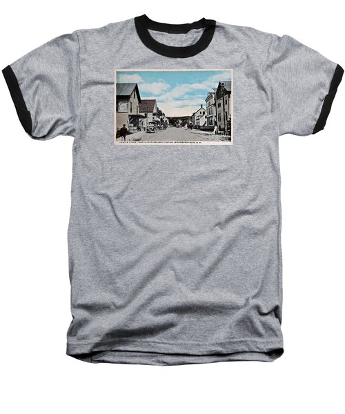 Vintage Postcard Of Wolfeboro New Hampshire Art Prints Baseball T-Shirt