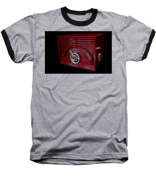 Vintage Radio Baseball T-Shirt