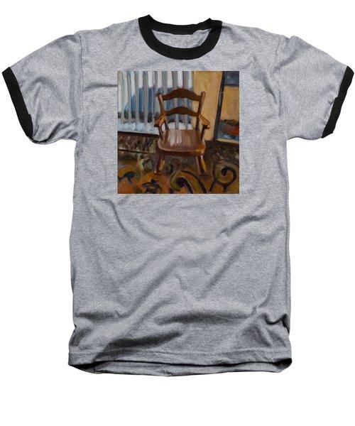 Vintage Rocker Baseball T-Shirt by Pattie Wall