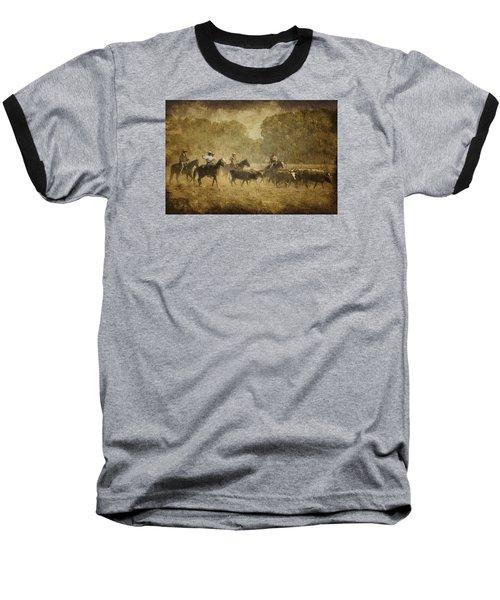 Vintage Roundup Baseball T-Shirt