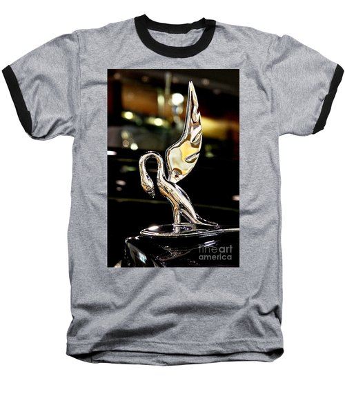 Vintage Swan Packard Hood Ornament Car Fine Art Photography Print  Baseball T-Shirt