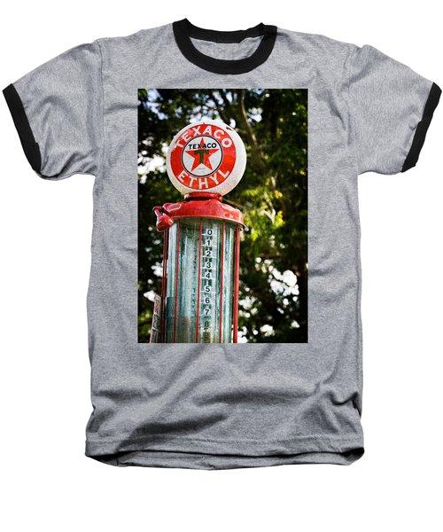 Vintage Texaco Gas Pump Baseball T-Shirt