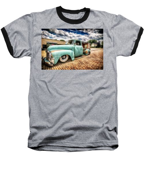 Vintage Truck  Baseball T-Shirt