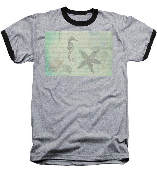 Vintage Under The Sea Baseball T-Shirt
