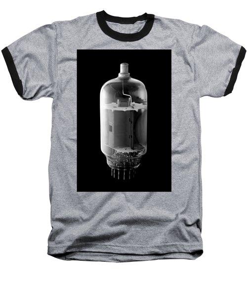 Vintage Vacuum Tube Baseball T-Shirt