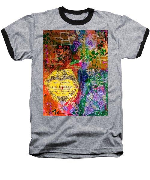Vintner Label Baseball T-Shirt