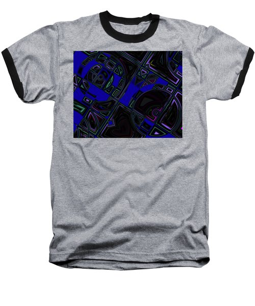 Vinyl Blues Baseball T-Shirt