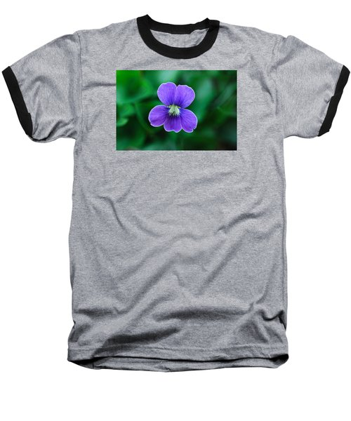 Baseball T-Shirt featuring the photograph Violet Splendor by Julie Andel