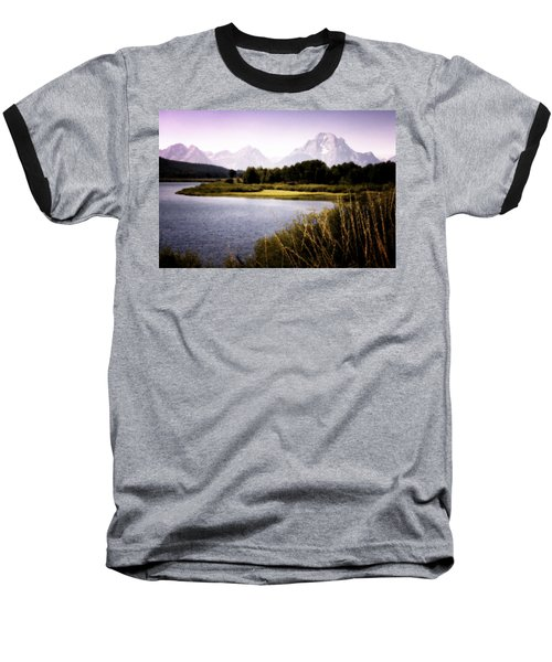Violet Tetons Baseball T-Shirt