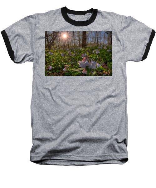 Virgina Bluebells Baseball T-Shirt