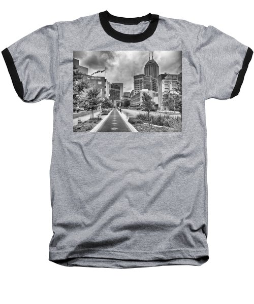 Baseball T-Shirt featuring the photograph Virginia Ave. by Howard Salmon