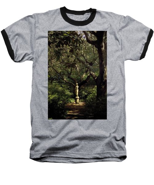 Baseball T-Shirt featuring the photograph Virginia Dare Statue by Greg Reed