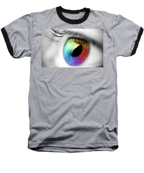 Vision Of Color Baseball T-Shirt