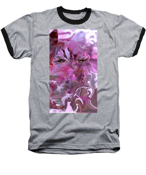 Vision Of Joy Baseball T-Shirt by Deprise Brescia