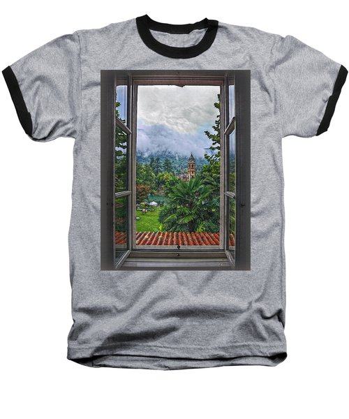 Baseball T-Shirt featuring the photograph Vision Through The Window by Hanny Heim