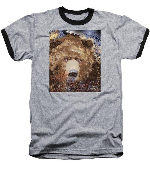 Visionary Bear Baseball T-Shirt