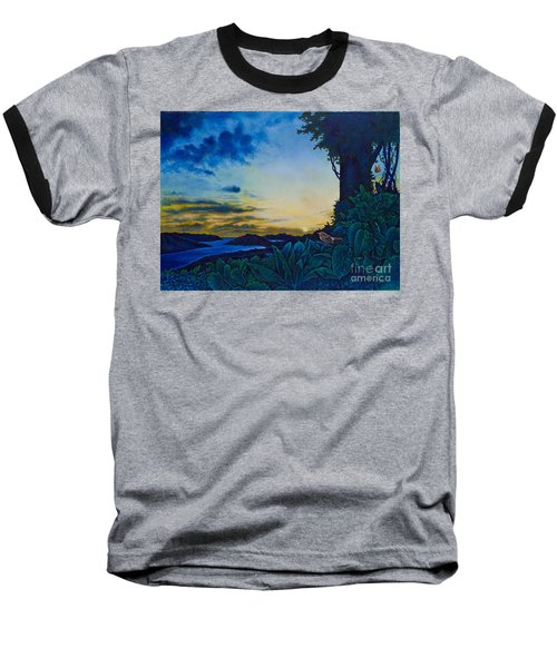 Visions Of Paradise II Baseball T-Shirt