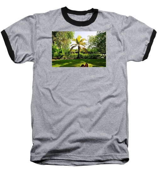 Visiting A Mayan Trail Baseball T-Shirt