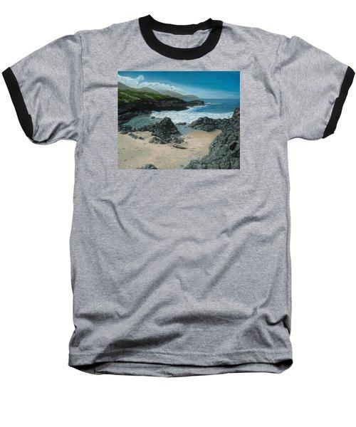 Visitor At Kaena Point Baseball T-Shirt