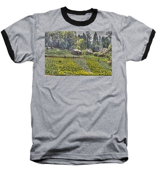 Visitors On Daffodil Hill Baseball T-Shirt