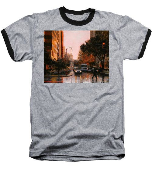 Vista Drizzle Baseball T-Shirt by Blue Sky
