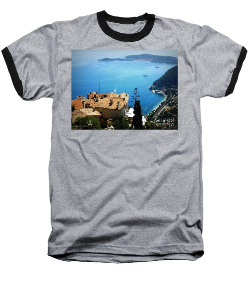 Vista From Eze Baseball T-Shirt by Lainie Wrightson