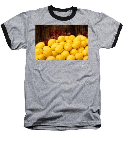 Vitamin C Baseball T-Shirt by Gunter Nezhoda