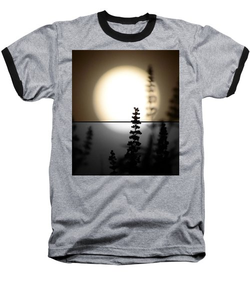 Baseball T-Shirt featuring the photograph Vitex Moon by Charlotte Schafer