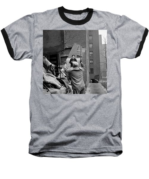 Vivian Maier Self Portrait Probably Taken In Chicago Illinois 1955 Baseball T-Shirt