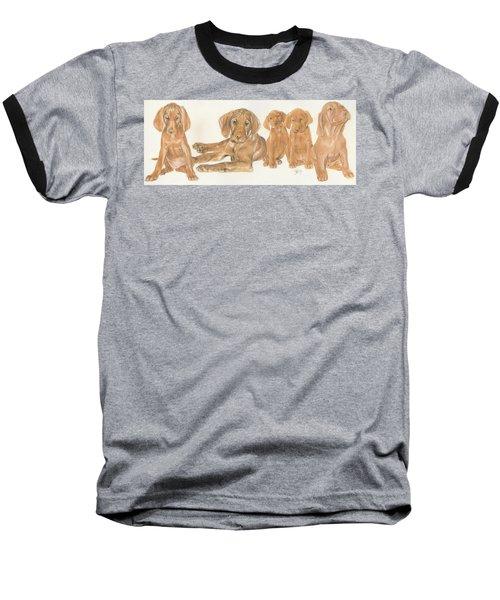 Vizsla Puppies Baseball T-Shirt