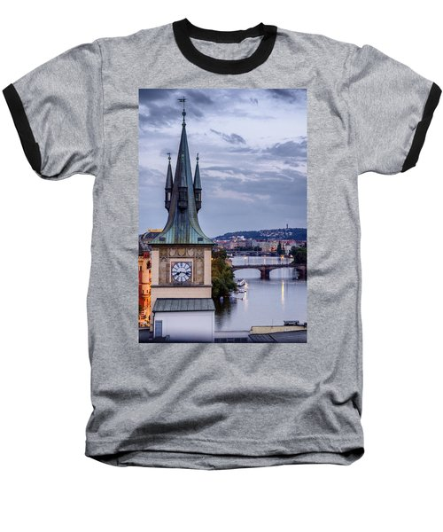 Vltava River In Prague Baseball T-Shirt