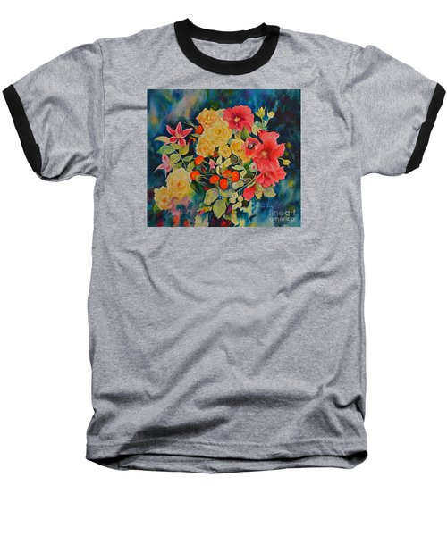 Baseball T-Shirt featuring the painting Vogue by Beatrice Cloake